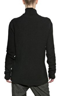 Silent By Damir Doma Ribbed Wool Knit Oversized Sweater - Lyst