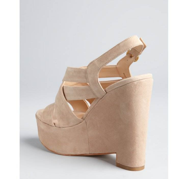 Dolce Vita The Garren Shoe in Nude Suede - Karmaloop.com