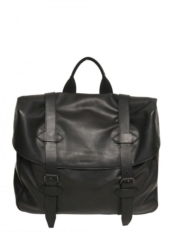 10238a26ba Lyst - Givenchy Leather Messenger Bag in Black for Men