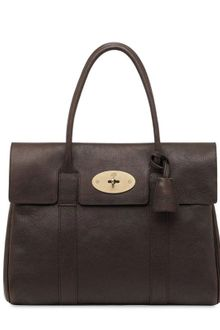 Mulberry Bayswater Natural Leather Bag - Lyst