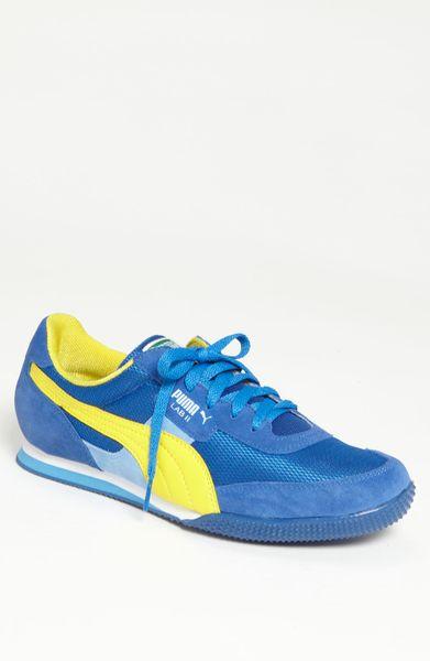 7d95a8f6503cdf Puma Lab Ii Fb Sneaker in Blue for Men (royal  yellow