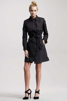 Jason Wu Kelly Belted Silk Trench Dress - Lyst