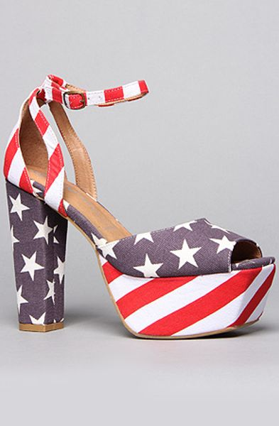 Jeffrey Campbell The Perfect Shoe In Stars And Stripes In