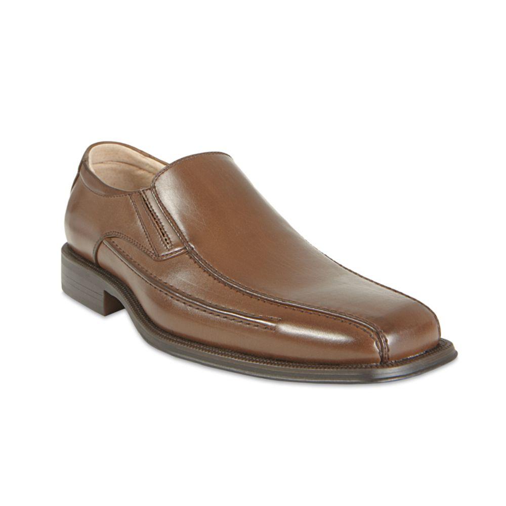 832b13b3e80 Steve Madden Brown Royal Slip On Dress Shoes for men