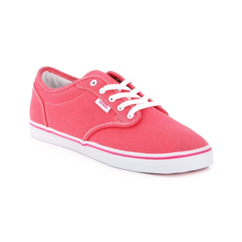 Lyst - Vans Atwood Low Sneakers in Pink 04ce40875ae0