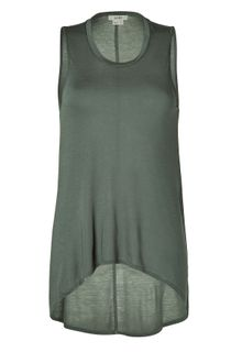Helmut Lang Meadow Asymmetric Sheer Top - Lyst