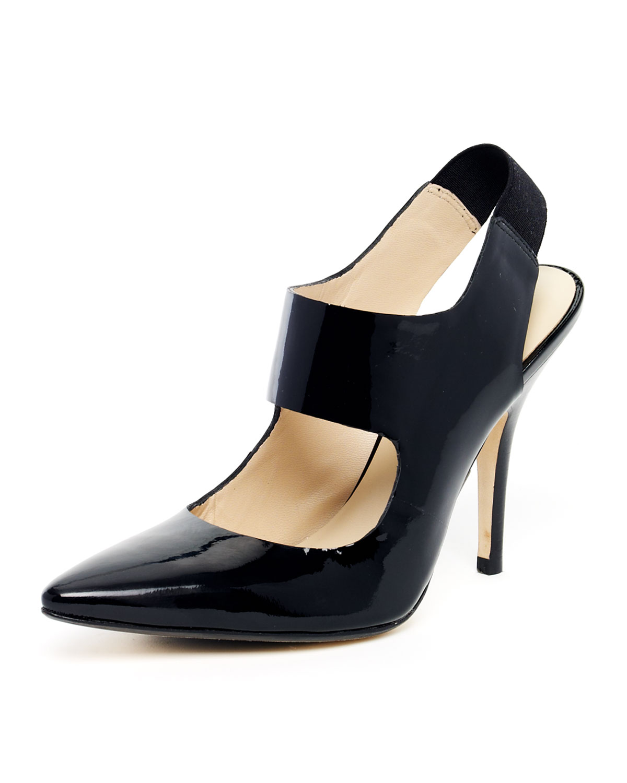 Michael Kors Black Canvas Shoes