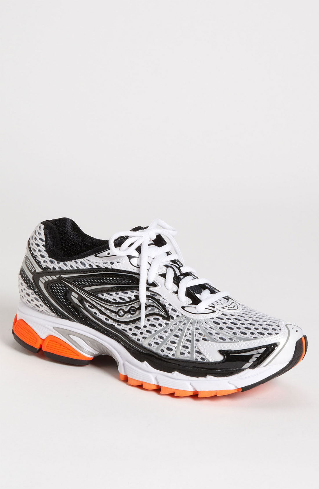 saucony progrid ride 4 running shoe in black for