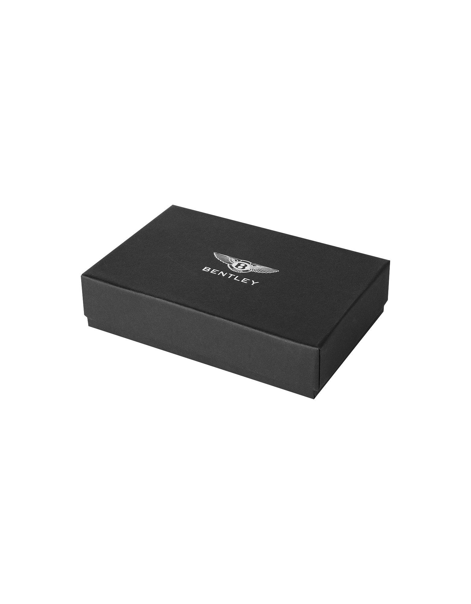 Lyst Bentley Ettinger Black Leather Cap Keyring In Black For Men