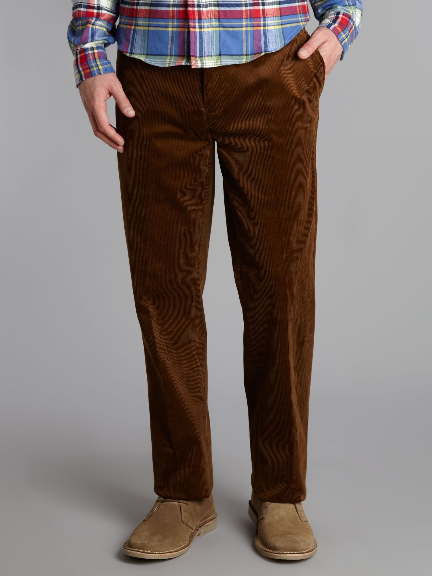Polo ralph lauren Suffield Stretch Corduroy Trousers in Brown for ...