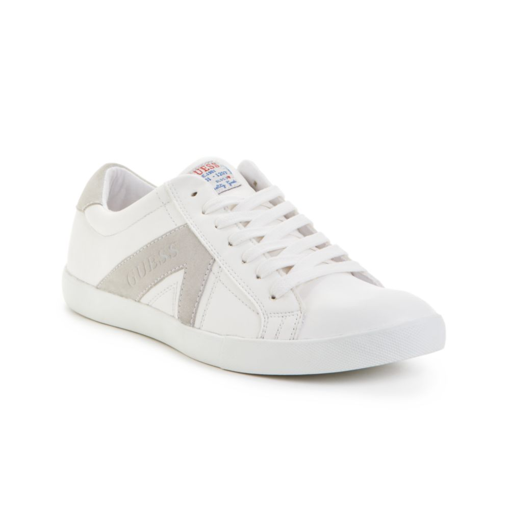 f96fee60f Guess Jocino Sneakers in White for Men - Lyst