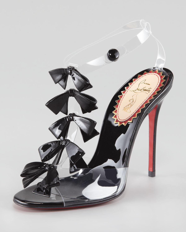 the best attitude 89739 0408d Women's Black Bow Bow Sandals