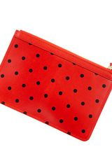 J.Crew Receipt Pouch in Dot