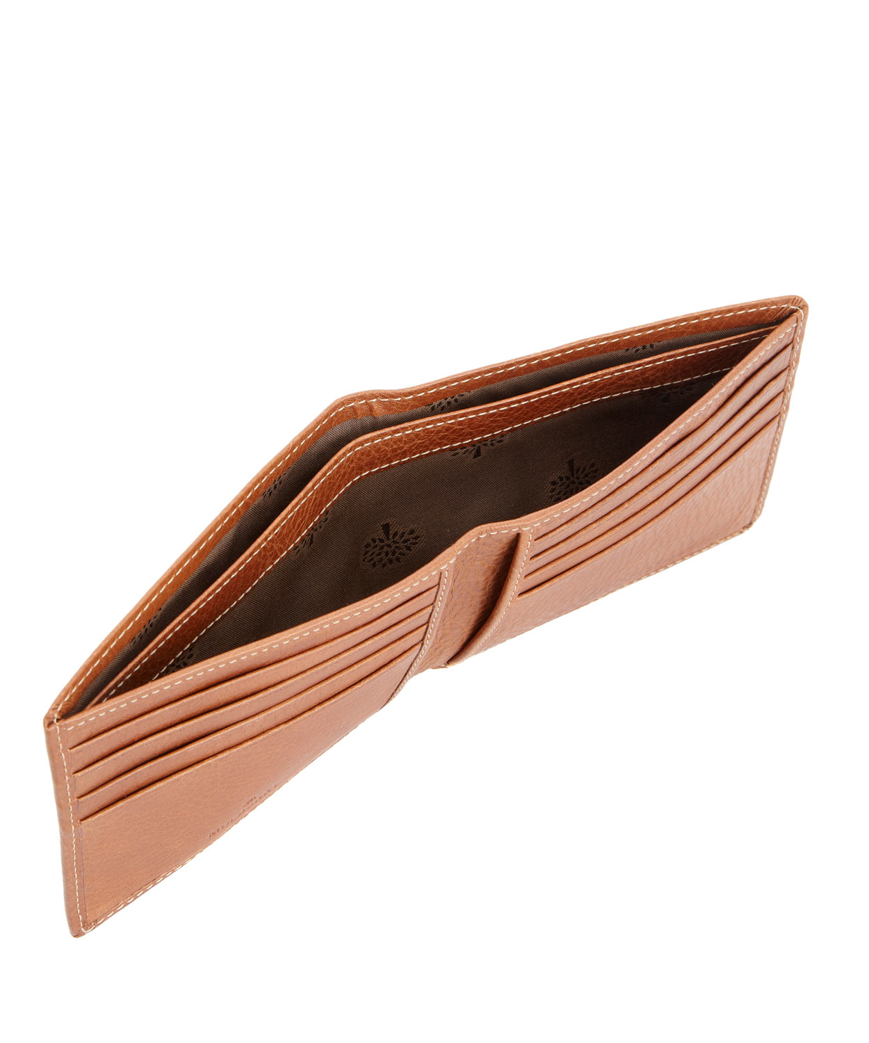 c09fa9f2a23 ... billfold wallet 6fcac d12b2 amazon lyst mulberry tan leather 8 card  wallet in orange for men db736 4372b ...