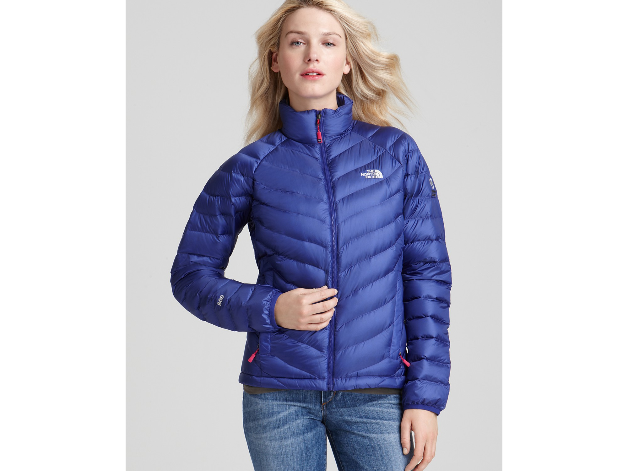 04b4c7e4c The North Face Blue Thunder Lightweight Down Jacket
