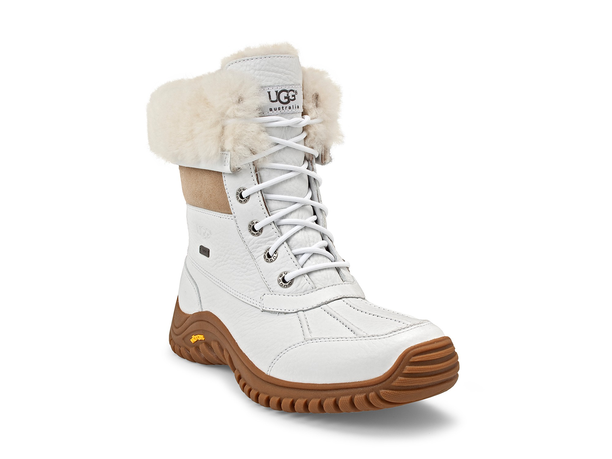 Ugg Adirondak Snow Boots In White Lyst