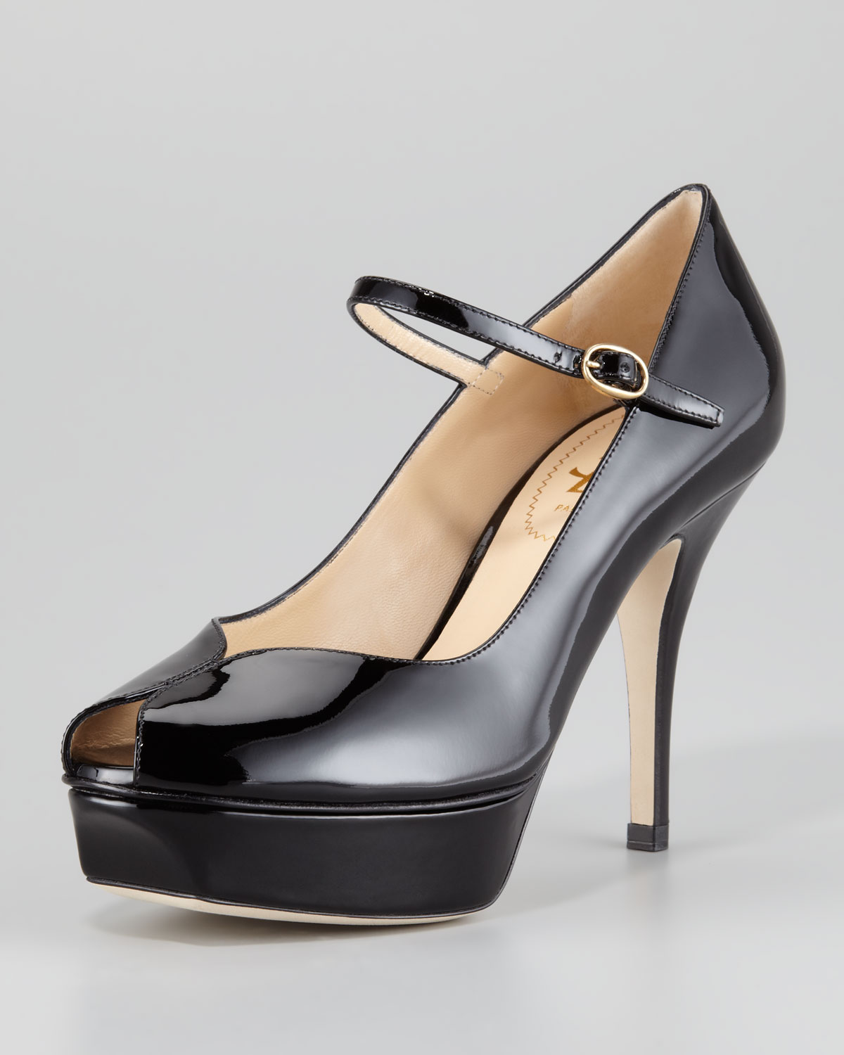 Tribute 105 patent leather pumps Saint Laurent 5agH1AN9x