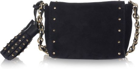 Mulberry Mini Lily Studded Suede Shoulder Bag 121