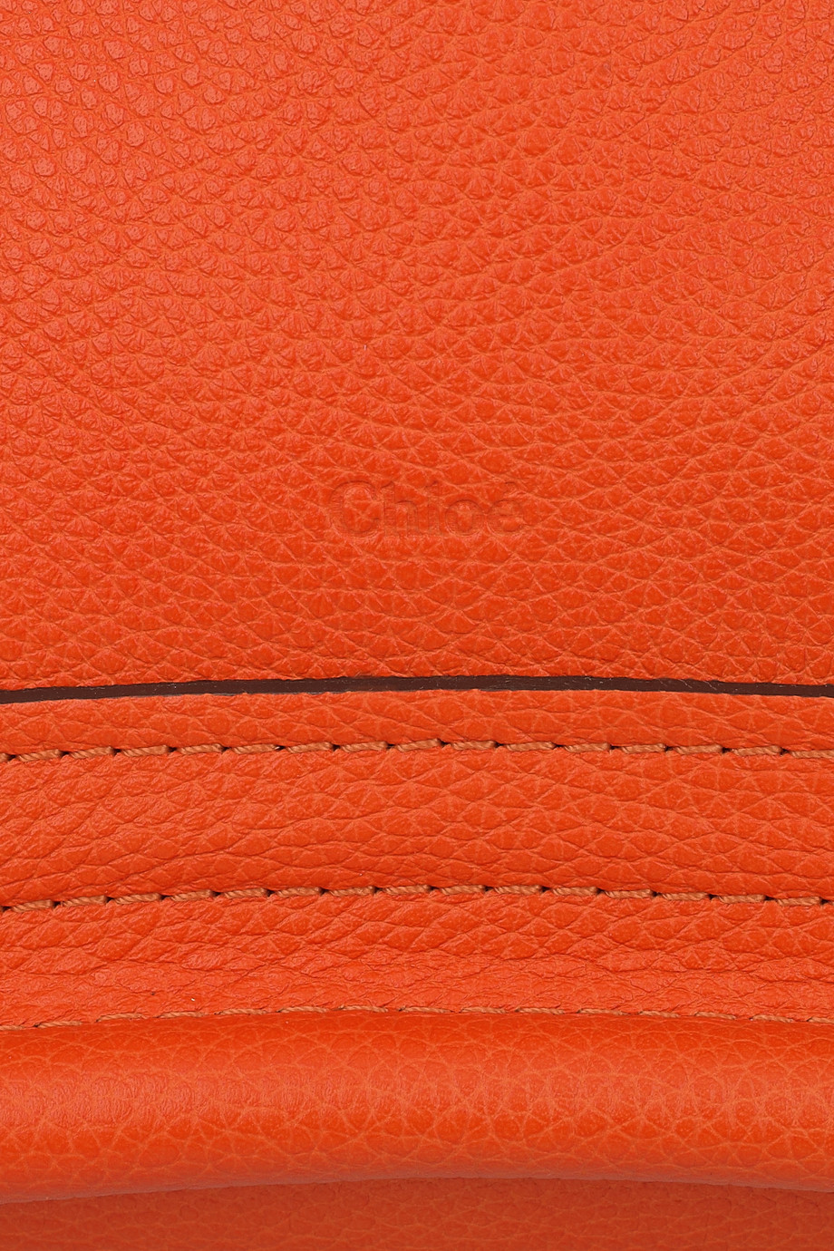 Chlo 233 Paraty Small Leather Bag In Orange Lyst