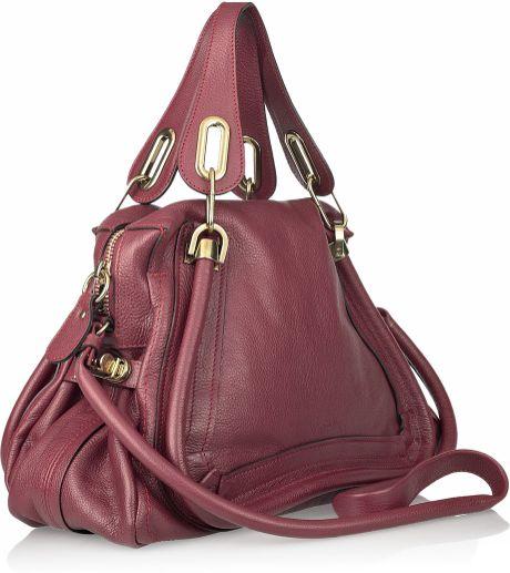 Chloe Large Paraty Leather Shoulder Bag \u2013 Shoulder Travel Bag