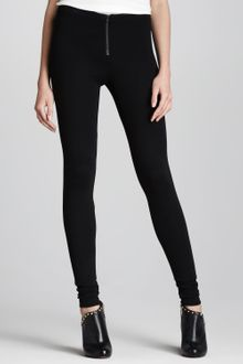 Alice + Olivia Frontzip Leggings - Lyst