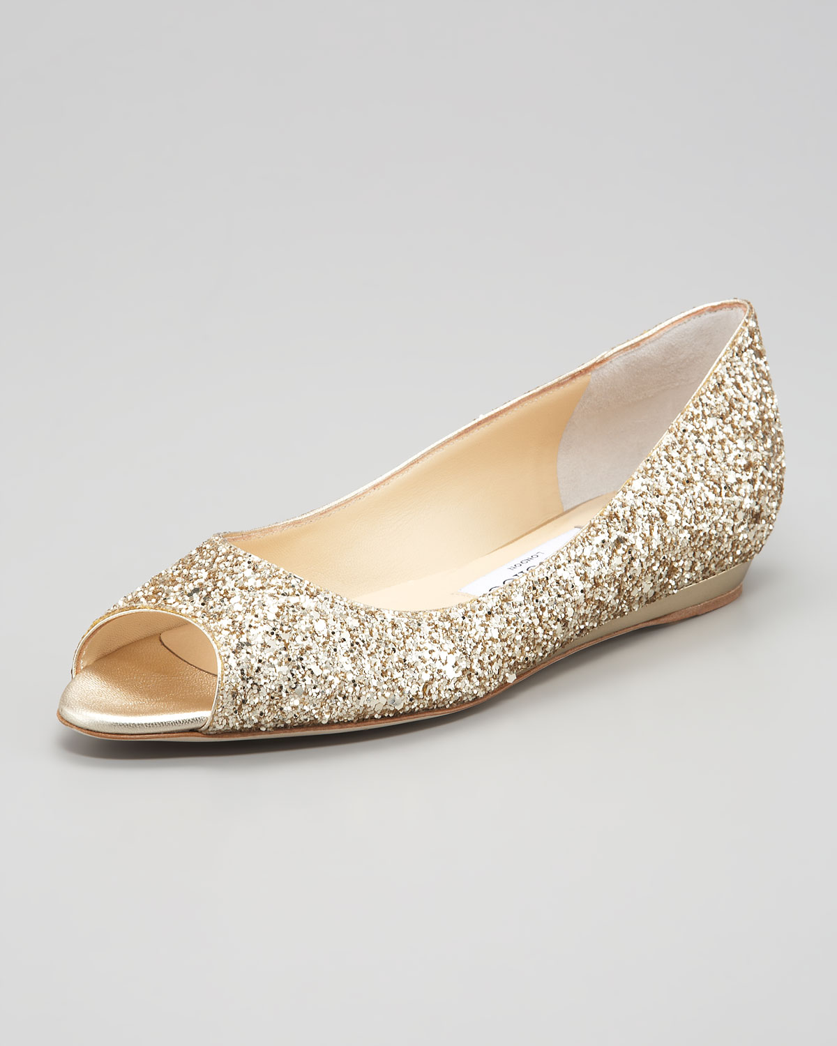 Flat Shoes Champagne