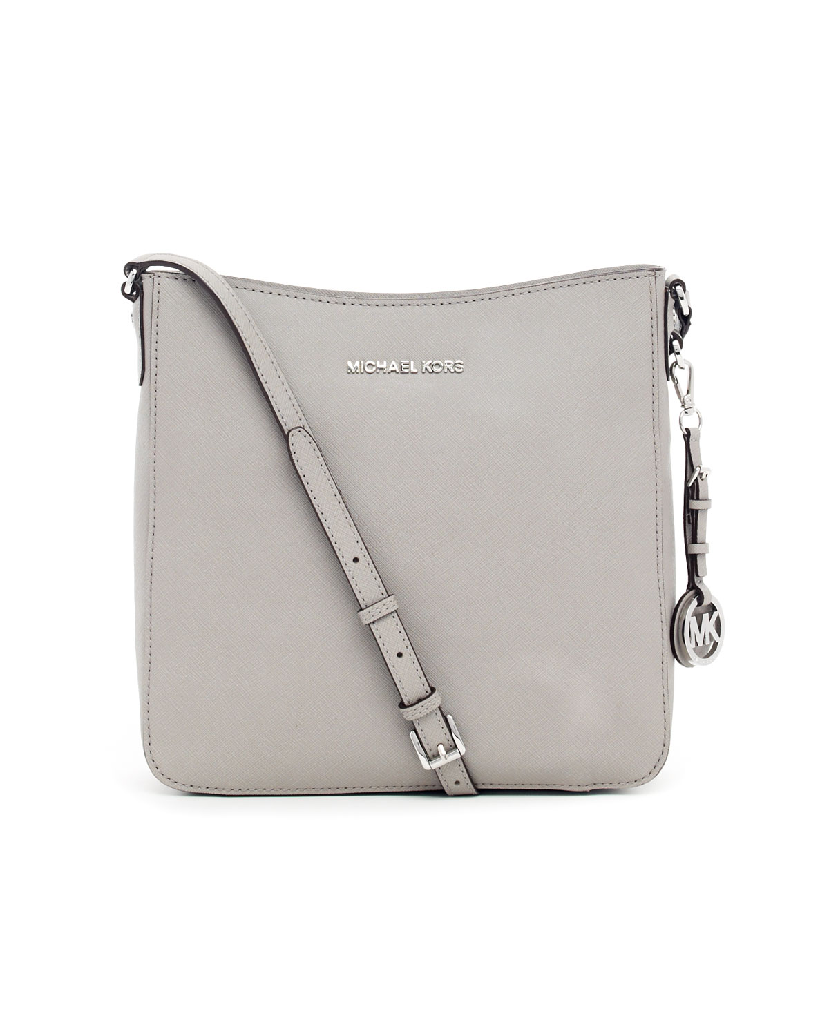 38c7fd1210 Michael Kors - Gray Jet Set Large Travel Messenger Bag - Lyst