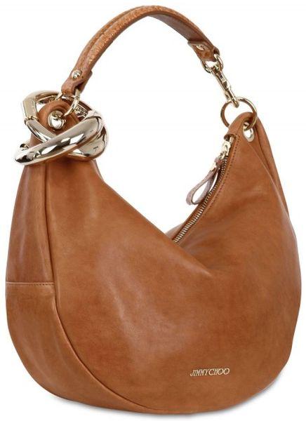 Tan Leather Shoulder Bag 87