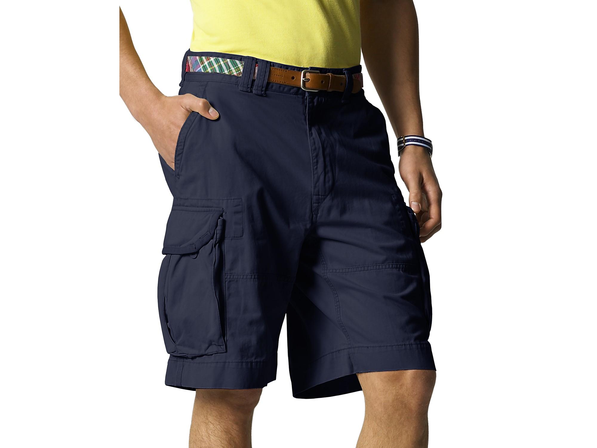 db2f5bad Polo Ralph Lauren Blue Gellar Classic Cargo Short for men