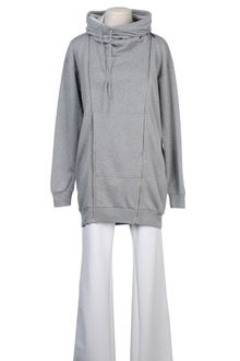 Mm6 By Maison Martin Margiela Zip Sweatshirt - Lyst