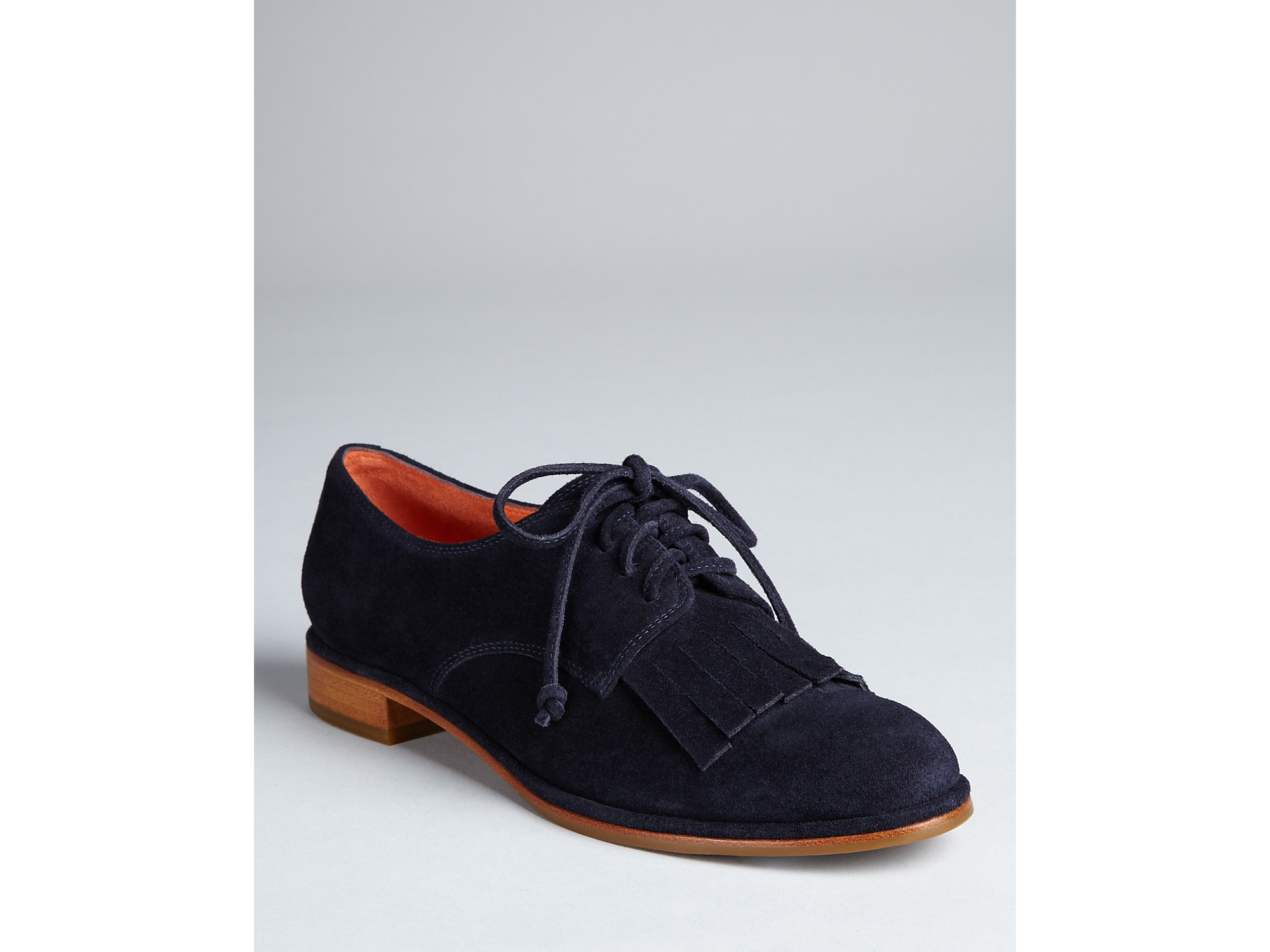 290dbb607ac9 Lyst - Via Spiga Flats Iggy Oxford Lace Up in Blue
