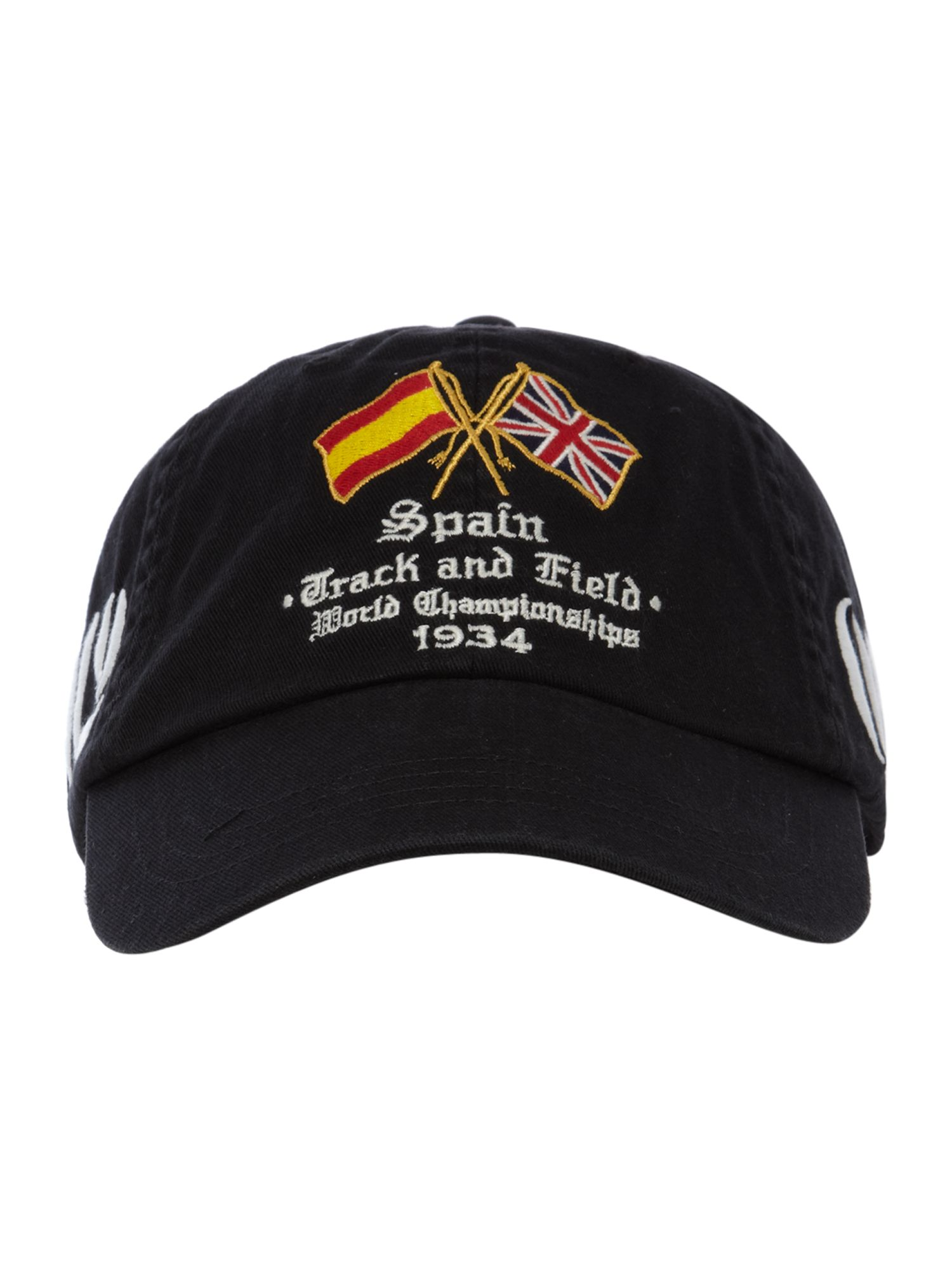 Polo Ralph Lauren Country Baseball Cap in Black for Men - Lyst 30af3055b294