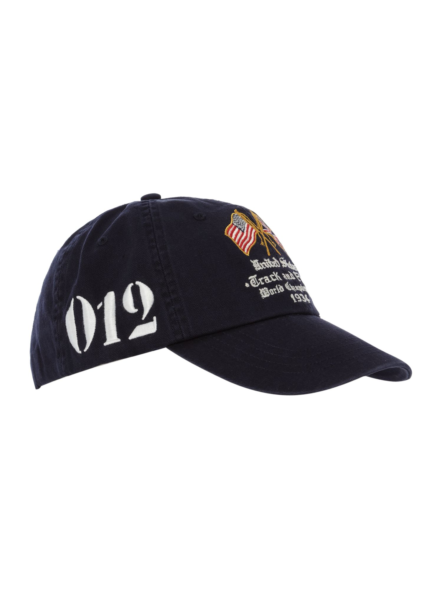 polo ralph lauren country baseball cap in black for men lyst. Black Bedroom Furniture Sets. Home Design Ideas