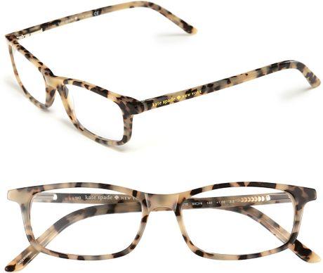 Kate Spade Jodie 48Mm Reading Glasses - Milky Tortoise ...