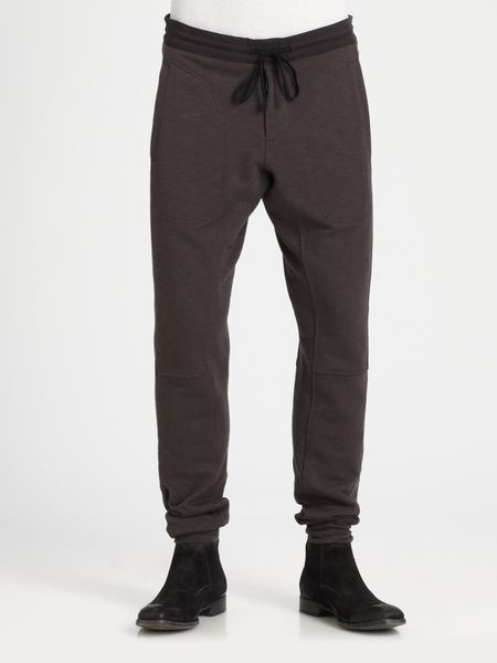 Yigal Azrou 235 L Wool Knit Pants In Brown For Men Black Lyst