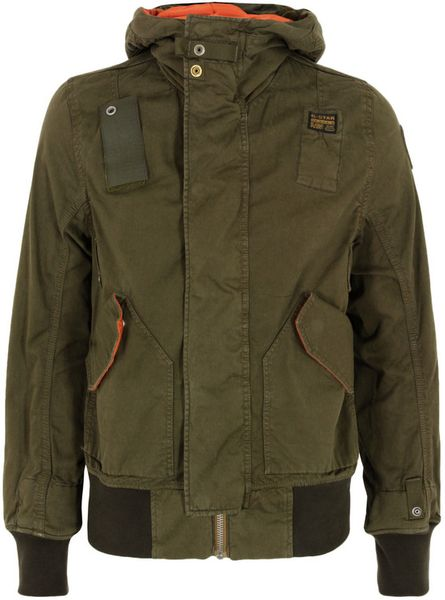g star raw new mfd wild olive bomber jacket in green for. Black Bedroom Furniture Sets. Home Design Ideas