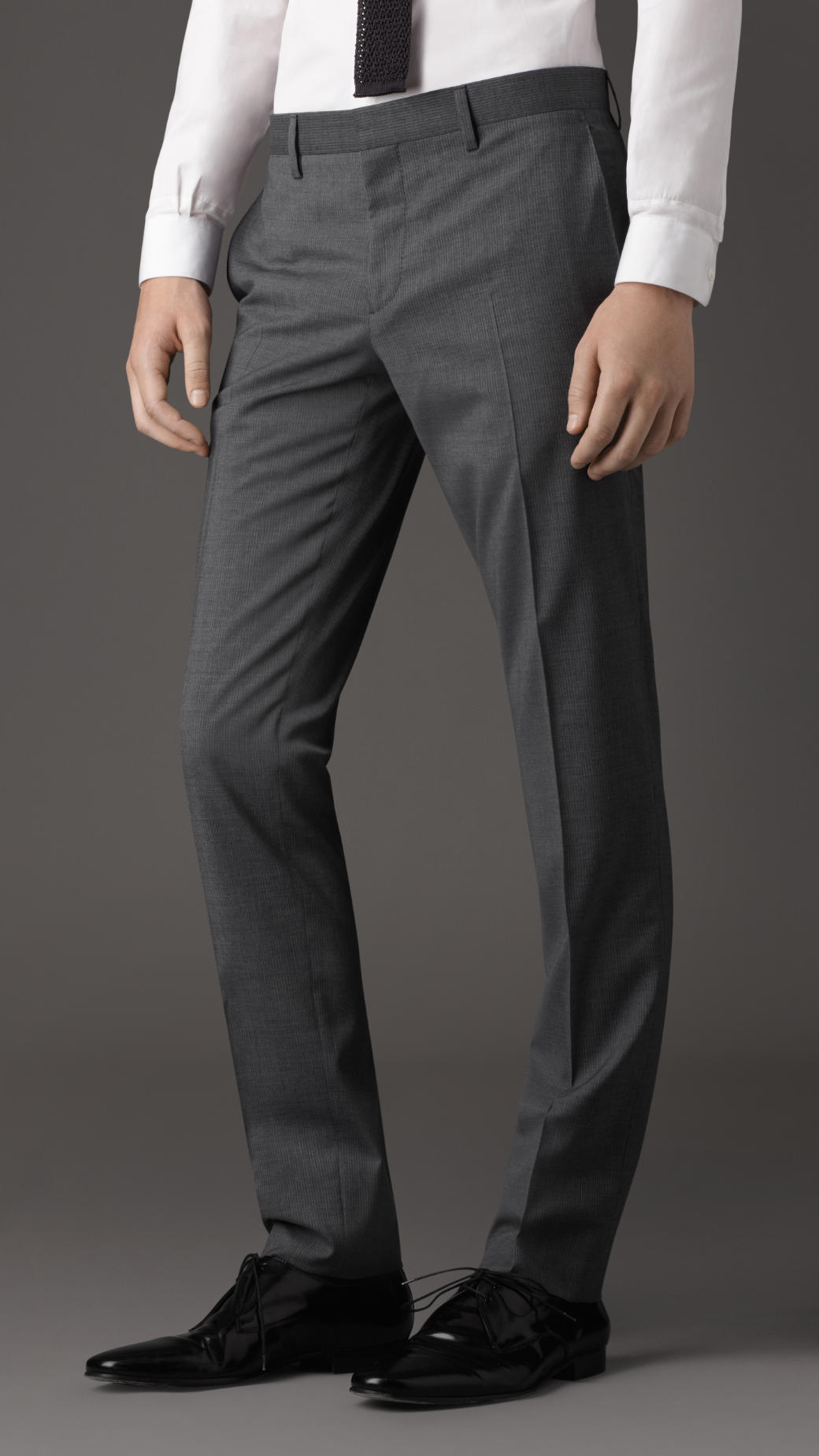 Lyst Burberry Slim Fit Pinstripe Suit In Gray For Men