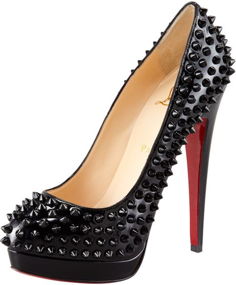 Christian Louboutin Alti Spike Pump in Black - Lyst