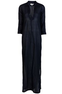 Navy Blue Maxi Dress on Nili Lotan Western Shirt Dress In Blue  Navy    Lyst