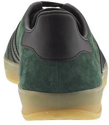 Adidas Gazelle Indoor Dark Green Black & Gum