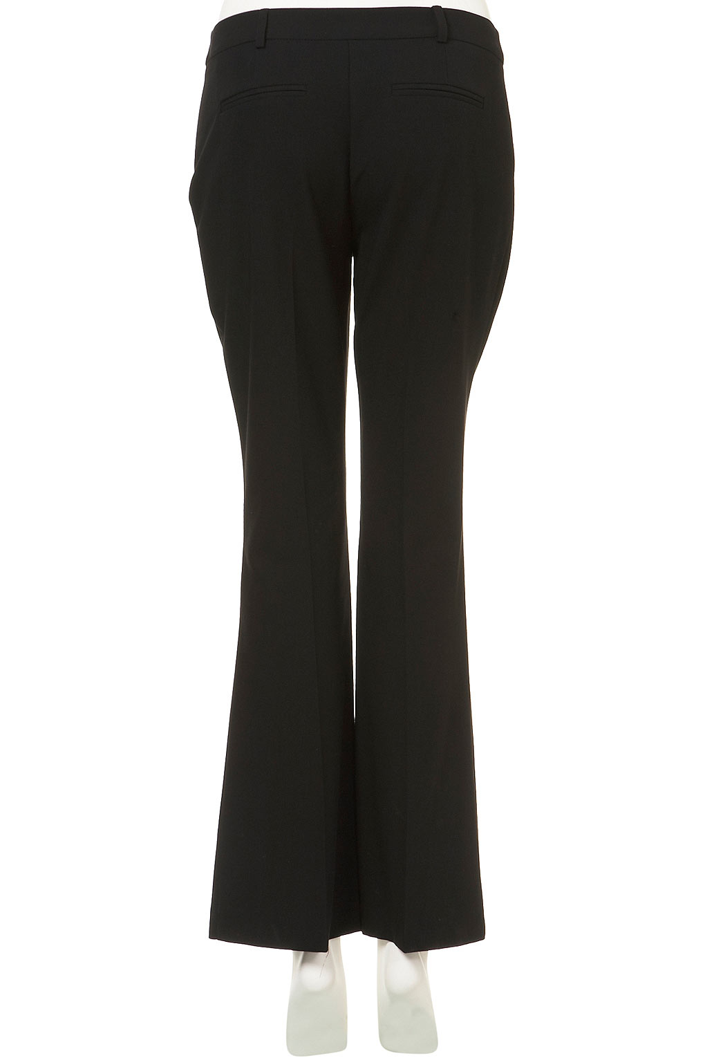 Black bootcut trousers topshop