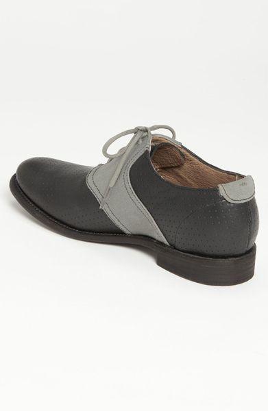 jd fisk jd fisk nikko saddle shoe in black for black