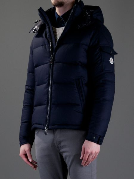 Moncler Montgenevre Padded Jacket in Blue for Men | Lyst