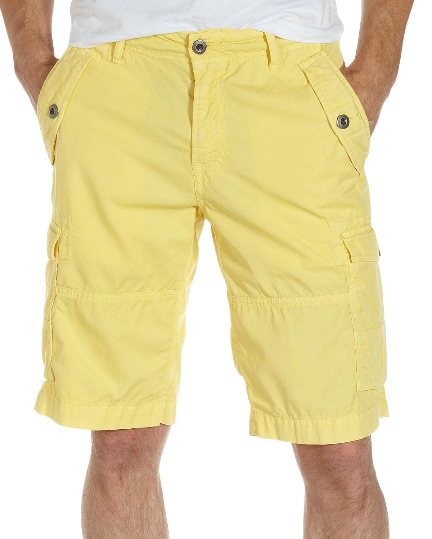 Original paperbacks Daytona Cargo Shorts in Yellow for Men | Lyst