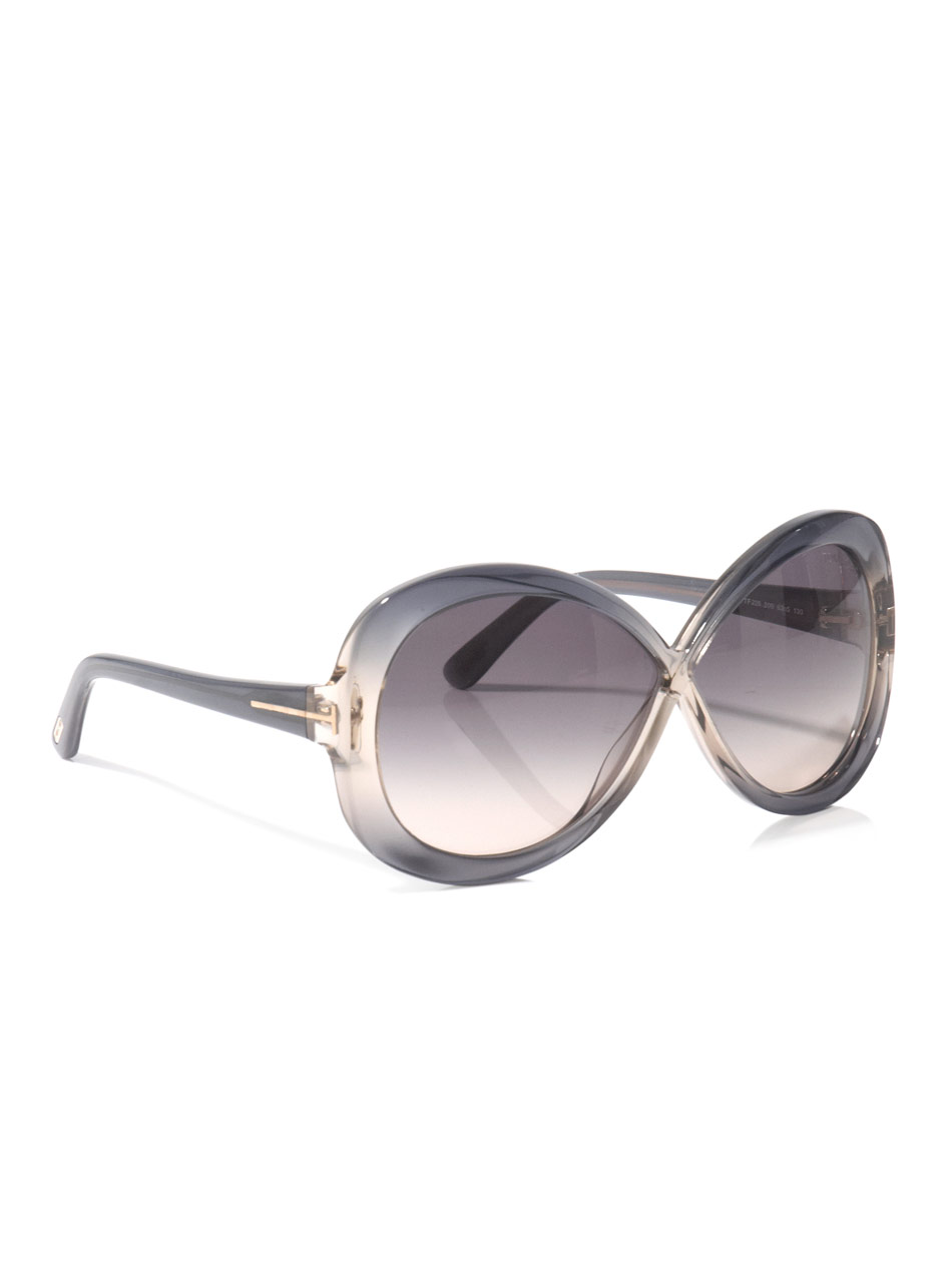 tom ford margot sunglasses in gray grey lyst. Black Bedroom Furniture Sets. Home Design Ideas