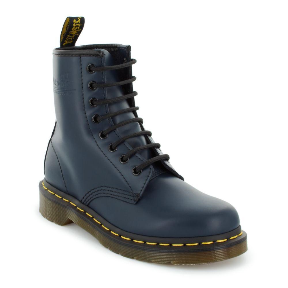 dr martens womens original boot in blue navy lyst. Black Bedroom Furniture Sets. Home Design Ideas