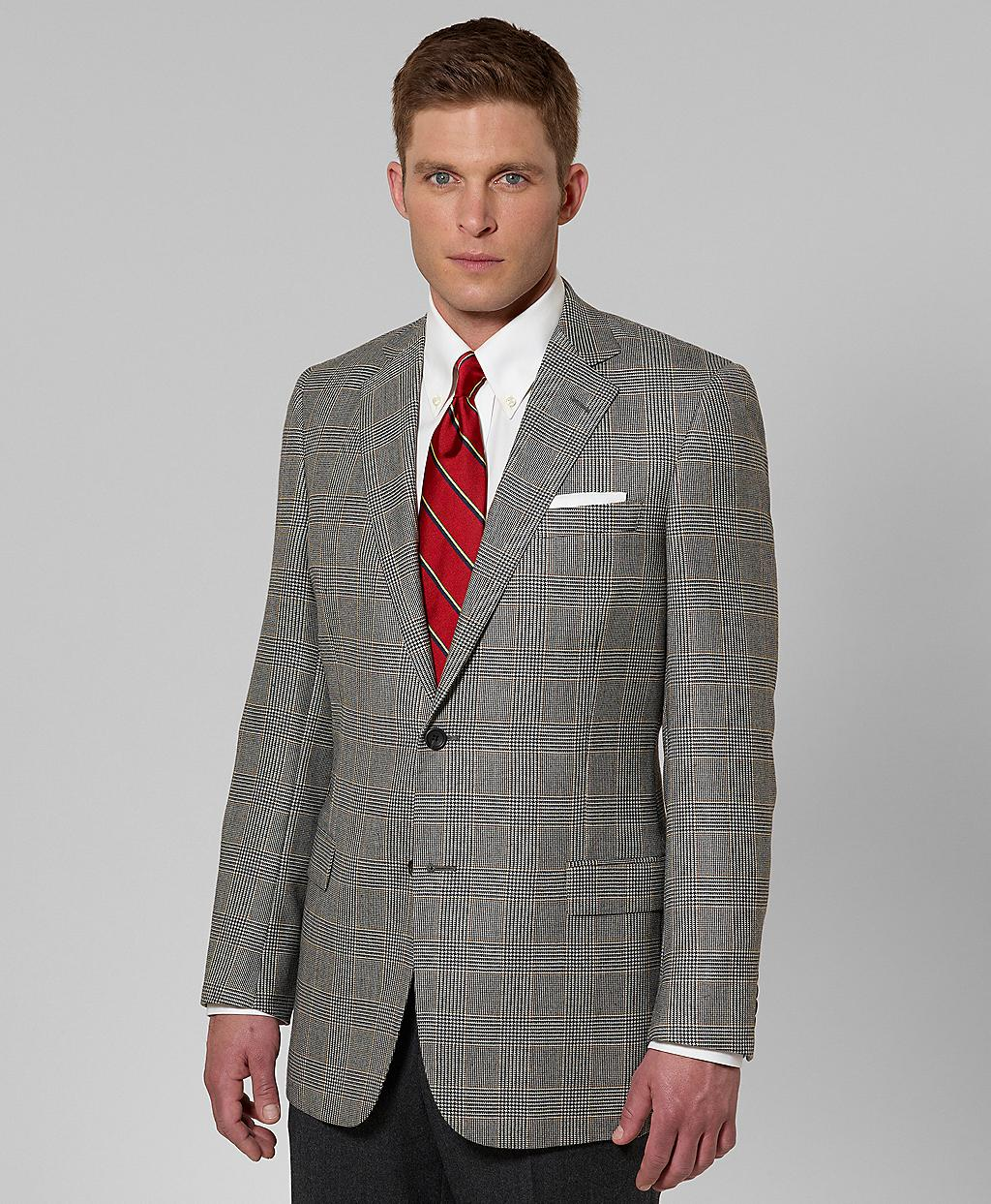 Brooks brothers Fitzgerald Fit Plaid with Deco Cashmere Sport Coat ...