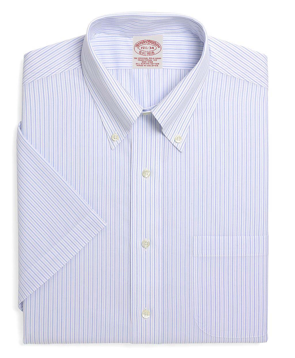 Brooks Brothers Supima Cotton Noniron Traditional Fit