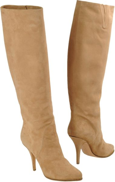 Givenchy Highheeled Boots in Brown (beige)