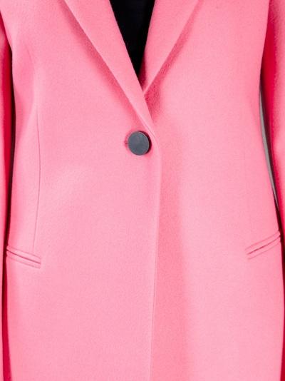 b0bd21b31372a Balenciaga Classic Long Coat in Pink - Lyst
